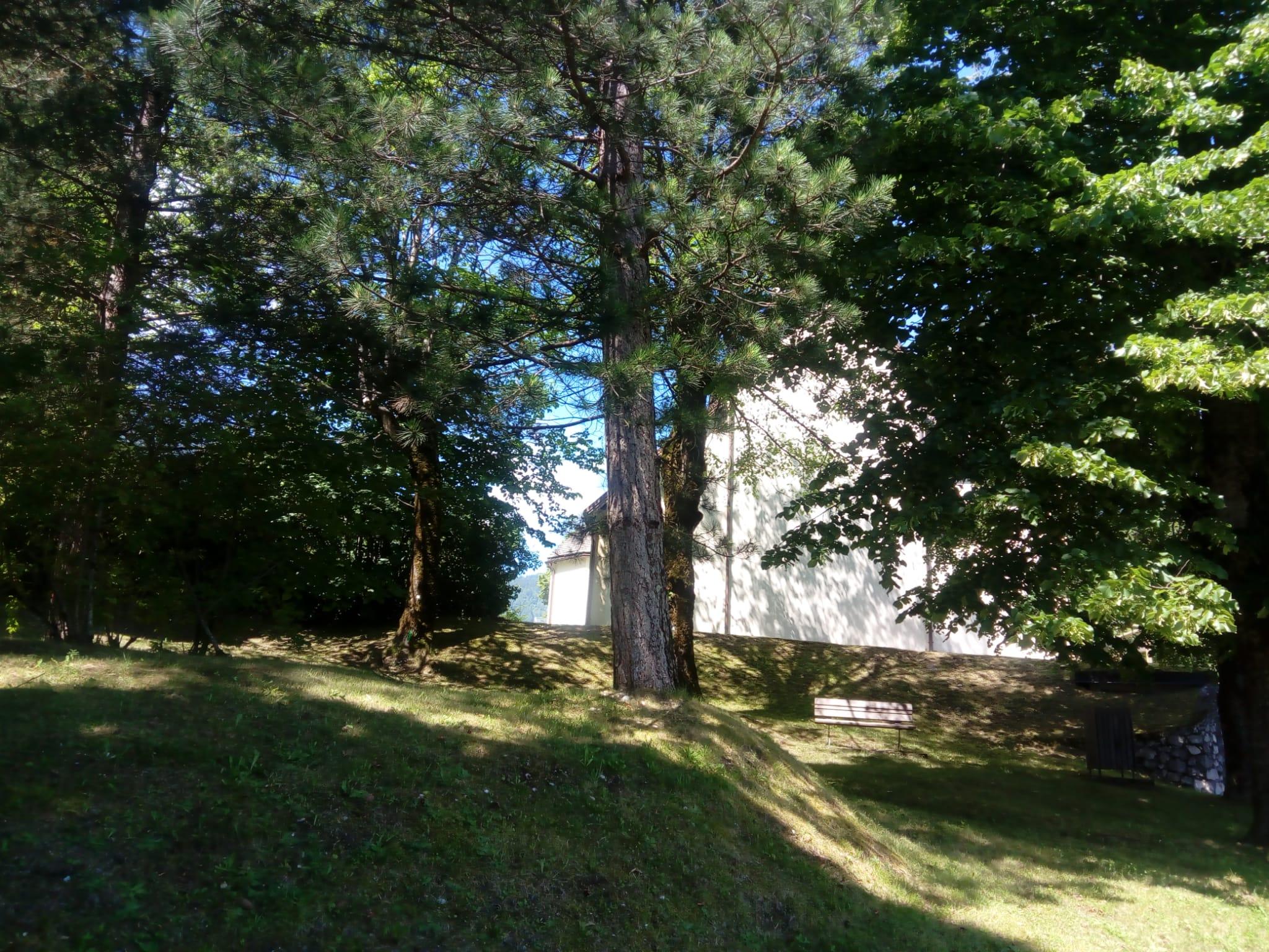 parco chiesa san sebastiano pieve tesino